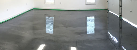 Metallic Garage Epoxy