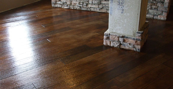 Residential Rustic Wood Flooring
